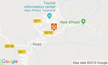 Karte Alpe d'Huez Appartement 117531