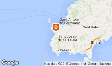 Karte Cala Tarida Appartement 42089