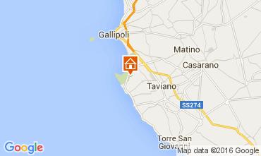 Karte Gallipoli Villa 95969