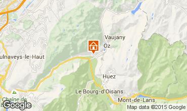 Karte Alpe d'Huez Appartement 65901