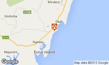 Karte Diani beach Villa 40998