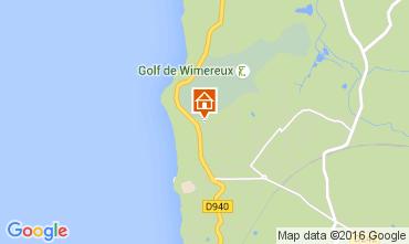 Karte Wimereux Appartement 8918