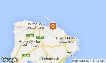 Karte Djerba Villa 9886