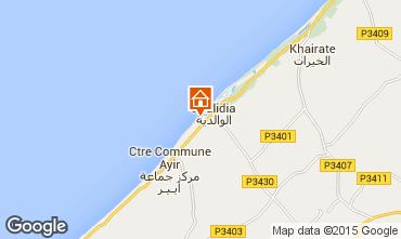 Karte Oualidia Villa 45810