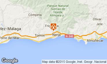 Karte Nerja Ferienunterkunft auf dem Land 65400