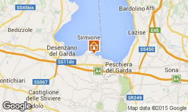 Karte Sirmione Appartement 84752
