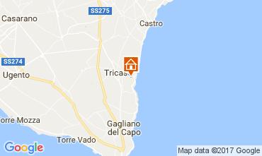 Karte Tricase Villa 87119