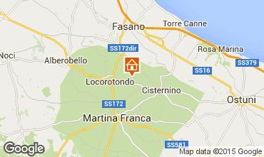 Karte Locorotondo Außergewöhnliche Unterkunft 81959