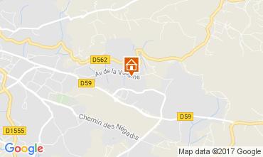 Karte Draguignan Villa 111531