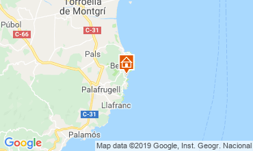 Karte Begur Haus 118746