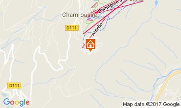 Karte Chamrousse Appartement 101320