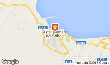 Karte Castellammare del Golfo Appartement 49143