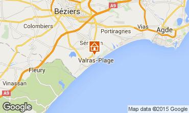 Karte Cap d'Agde Mobil-Home 91981