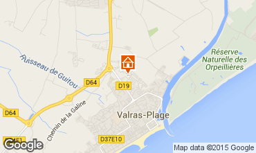 Karte Valras-Plage Mobil-Home 91981