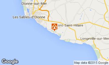 Karte Talmont-Saint-Hilaire Appartement 7129