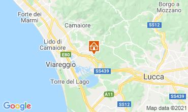 Karte Viareggio Appartement 87836