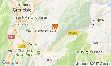 Karte Chamrousse Appartement 82469