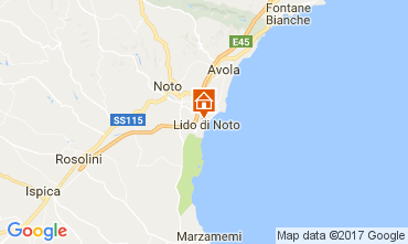 Karte Noto Villa 102661
