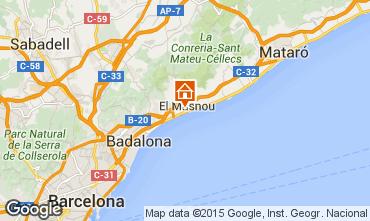 Karte Barcelona Haus 44076