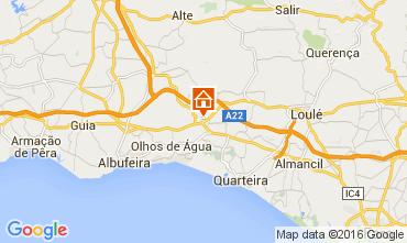 Karte Vilamoura Villa 104769