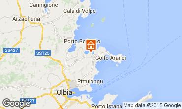 Karte Porto Rotondo Appartement 74271