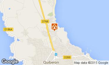 Karte Quiberon Haus 8770
