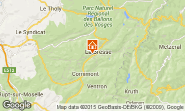 Karte La Bresse Appartement 83747