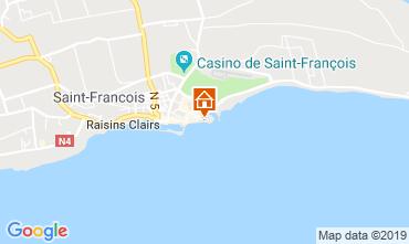 Karte Saint Francois Appartement 31362