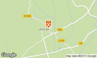 Karte Gordes Haus 73489