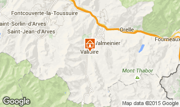 Karte Valloire Appartement 100352