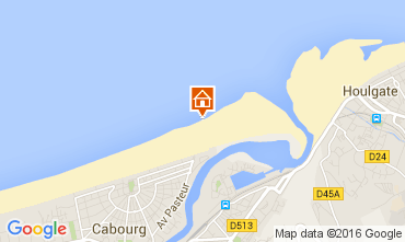 Karte Cabourg Appartement 83196