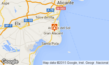 Karte Alicante Villa 96009