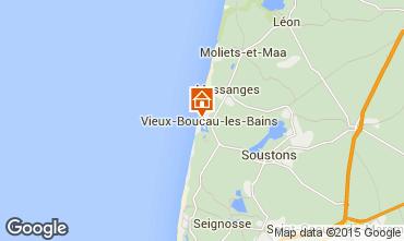 Karte Vieux Boucau Appartement 10054