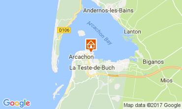 Karte Arcachon Haus 112165