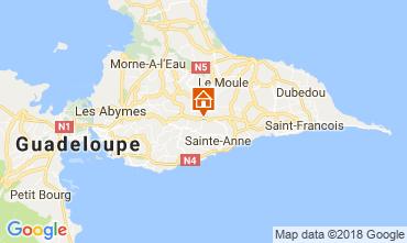 Karte Sainte Anne (Guadeloupe) Haus 115139
