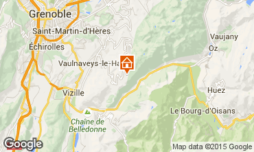 Karte Chamrousse Appartement 58470