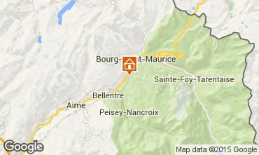 Karte Bourg Saint Maurice Au�ergew�hnliches Fremdenzimmer 100345