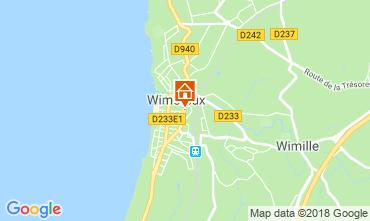 Karte Wimereux Appartement 116258