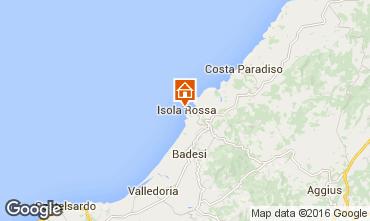 Karte Isola Rossa Studio 55748