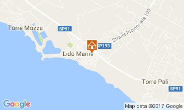 Karte Lido Marini Haus 107649