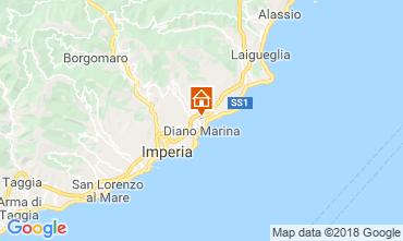 Karte Diano Marina Appartement 117571