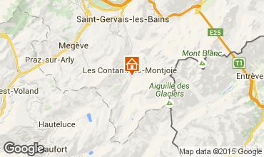 Karte Les Contamines Montjoie Haus 16107