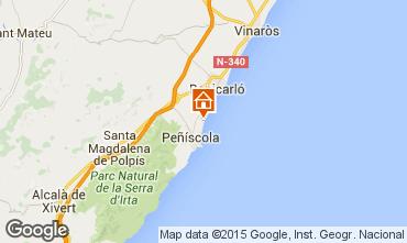 Karte Peñíscola Appartement 97510