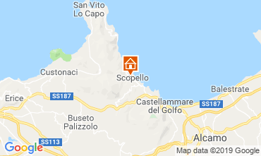 Karte Scopello Villa 66027