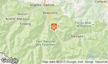 Karte Luz Saint Sauveur Appartement 101494