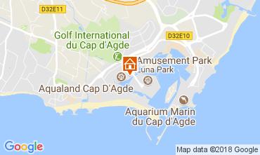 Karte Cap d'Agde Appartement 99840