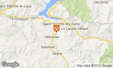 Karte Saint Jean Montclar Studio 59268