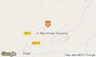 Karte Alpe d'Huez Studio 96346