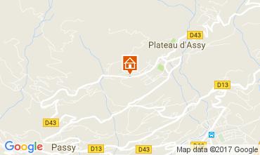 Karte Passy Appartement 99071