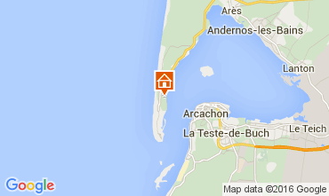 Karte Cap Ferret Villa 104276